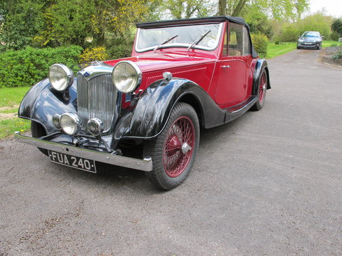 1937 RILEY 12/4 For Sale (picture 2 of 6)