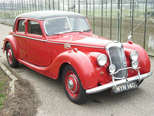1952 Riley  2.5 ltr RMB RHD For Sale (picture 1 of 6)