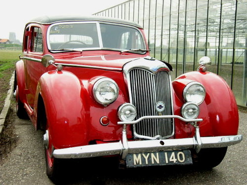 1952 Riley  2.5 ltr RMB RHD For Sale (picture 6 of 6)