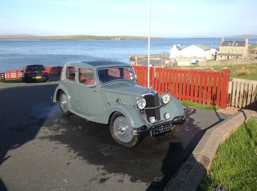 1936 Riley Merlin SOLD (picture 1 of 6)