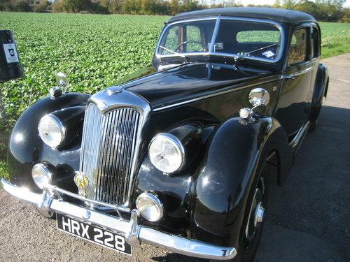 1953 Riley RMB 2.5 Saloon SOLD (picture 1 of 6)