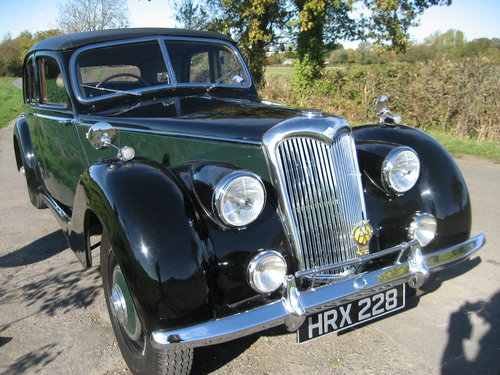 1953 Riley RMB 2.5 Saloon SOLD (picture 2 of 6)