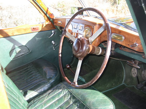 1953 Riley RMB 2.5 Saloon SOLD (picture 4 of 6)