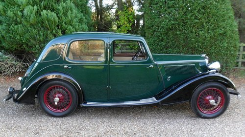 1936 Riley 12/4 Merlin Saloon - Price adjusted SOLD (picture 2 of 6)