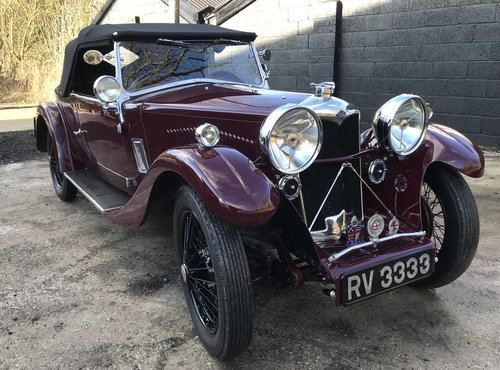 1933 Riley 9 Lynx - RESERVED... SOLD (picture 1 of 6)