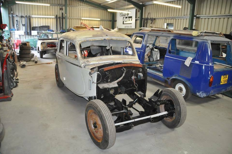 1950s RILEY RME X3 RME'S CLASSIC CARS GREAT PROJECT SOLD (picture 4 of 6)