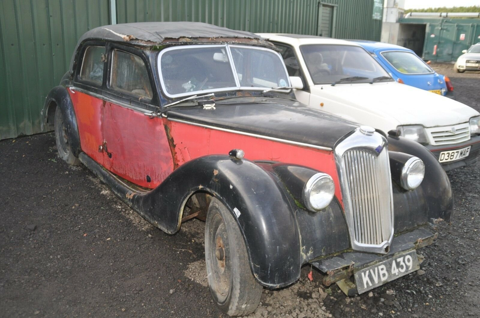 1950s RILEY RME X3 RME'S CLASSIC CARS GREAT PROJECT SOLD (picture 5 of 6)