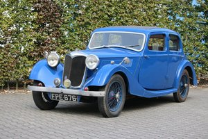 1937 Riley 12/4 Continental For Sale
