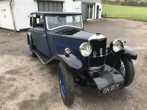 1931 Riley Alpine 14/6 Fabric Saloon - Price Adjusted For Sale