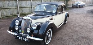 **MARCH AUCTION** 1949 Riley RM 1.5 SOLD by Auction