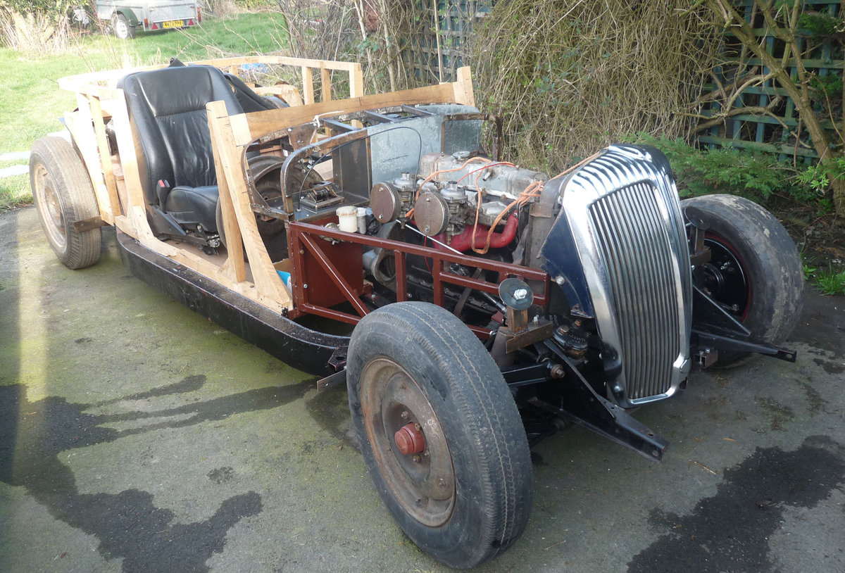 1957 Riley Pathfinder rolling chassis special project SOLD