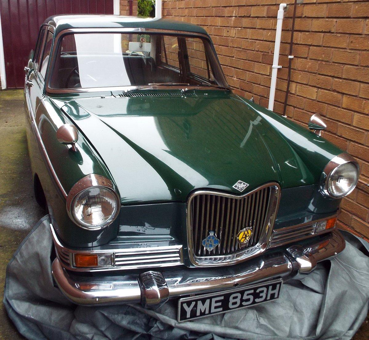 1969/70 Riley 4/72 Very Sound And Original Car SOLD
