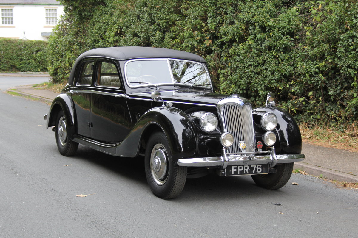 1951 Riley RMF 2.5, new frame, trim, 1k miles since engine rebuid For Sale (picture 1 of 12)