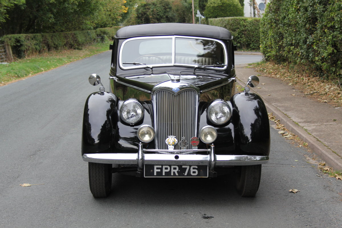 1951 Riley RMF 2.5, new frame, trim, 1k miles since engine rebuid For Sale (picture 2 of 12)
