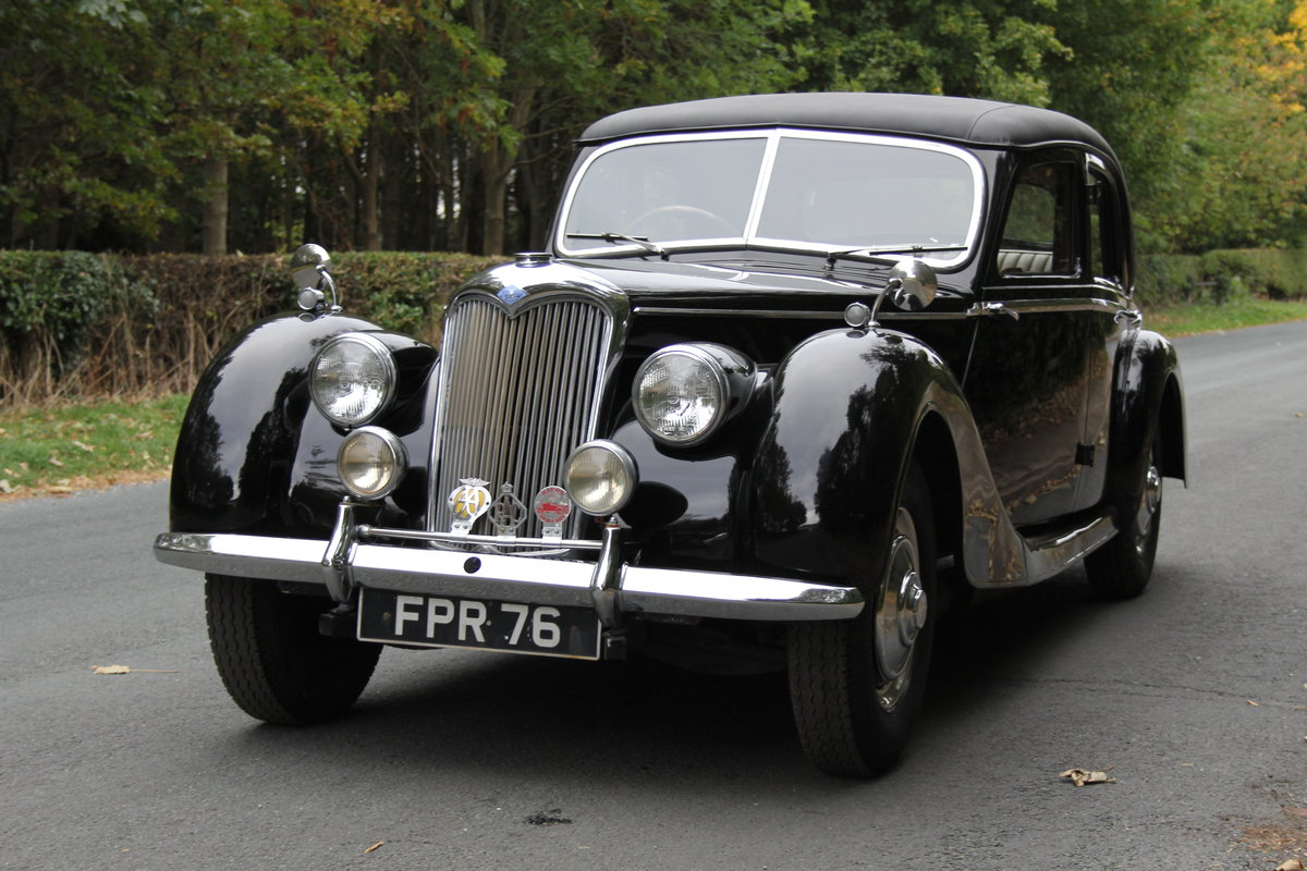 1951 Riley RMF 2.5, new frame, trim, 1k miles since engine rebuid For Sale (picture 3 of 12)