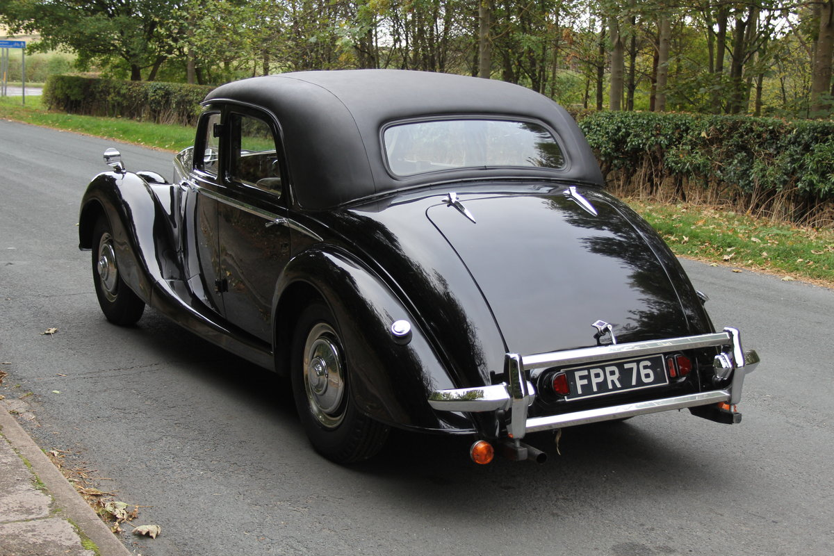 1951 Riley RMF 2.5, new frame, trim, 1k miles since engine rebuid For Sale (picture 4 of 12)