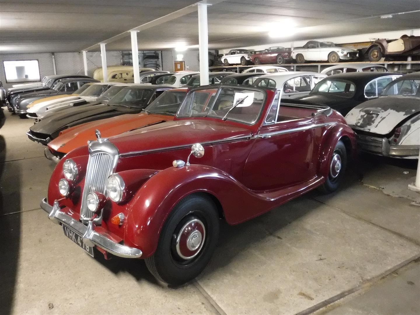 1952 Riley RMD RHD for sale For Sale (picture 1 of 6)
