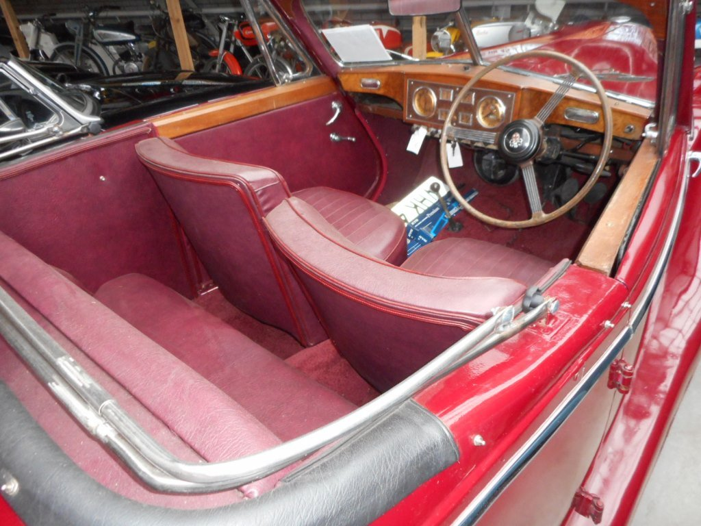 1952 Riley RMD RHD for sale For Sale (picture 5 of 6)