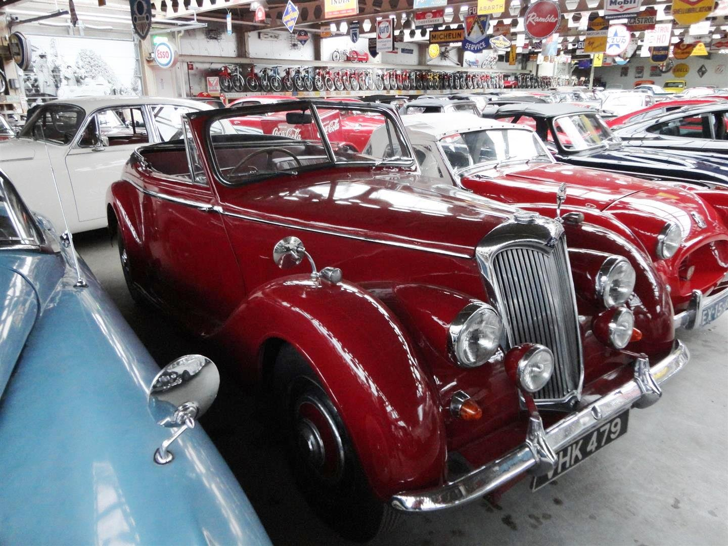 1952 Riley RMD RHD for sale For Sale (picture 6 of 6)