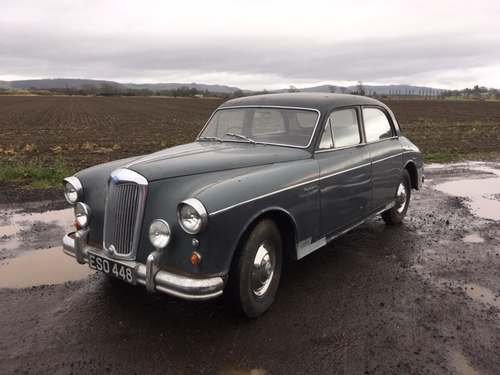 1958 Riley Two Point Six at Morris Leslie Auction 25th May SOLD by Auction (picture 1 of 6)