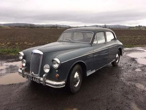 1958 Riley Two Point Six at Morris Leslie Auction 25th May SOLD by Auction
