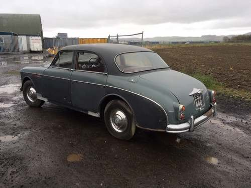 1958 Riley Two Point Six at Morris Leslie Auction 25th May SOLD by Auction (picture 2 of 6)