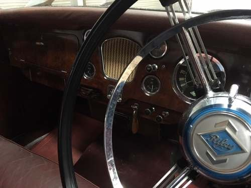 1958 Riley Two Point Six at Morris Leslie Auction 25th May SOLD by Auction (picture 3 of 6)