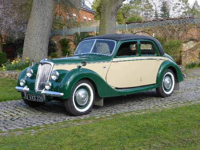 1950 Riley 1.5 RMA For Sale (picture 1 of 6)