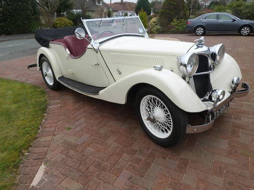 1936 Riley Lynx 12/4 for sale SOLD (picture 2 of 6)