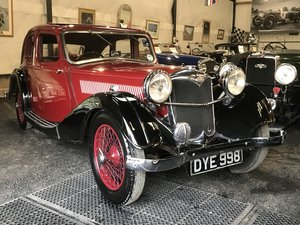1937 Riley 12/4 Kestrel  SOLD
