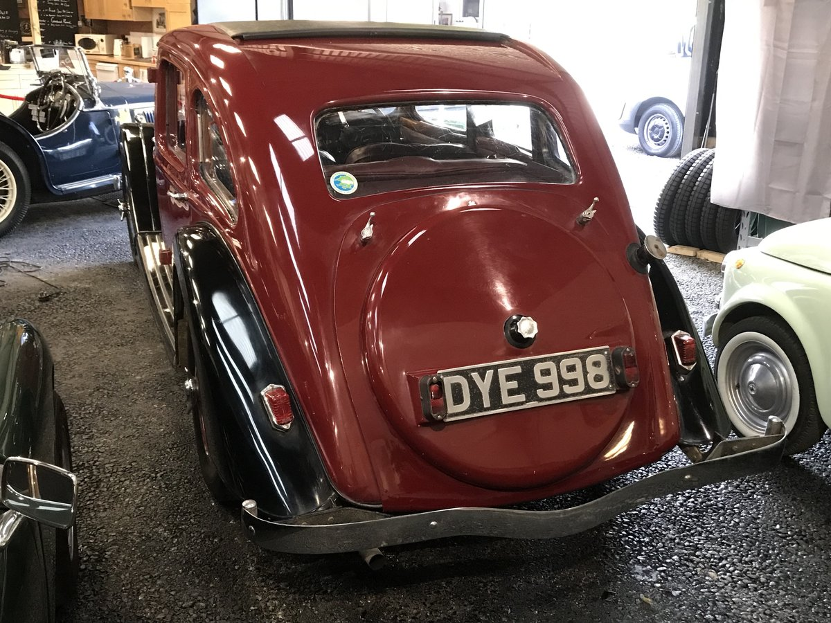 1937 Riley 12/4 Kestrel  SOLD (picture 2 of 6)