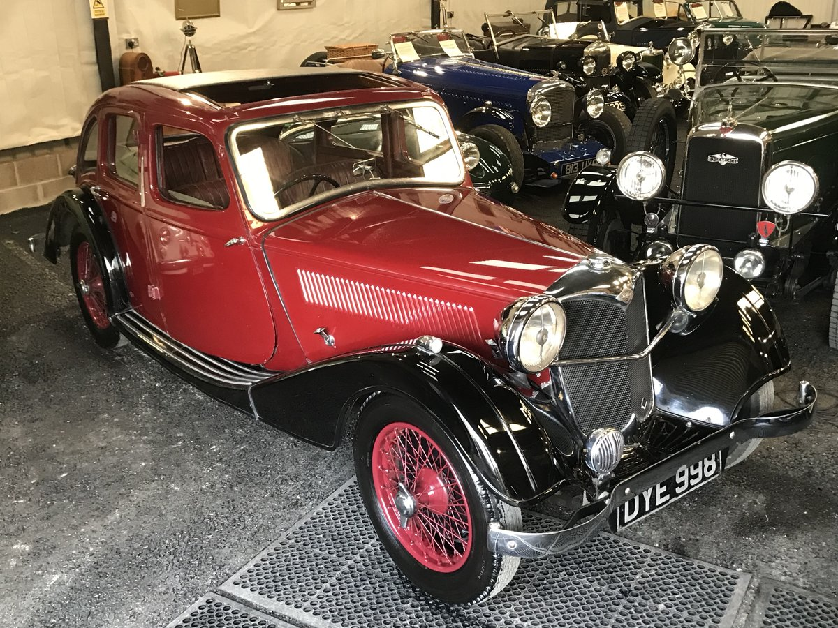 1937 Riley 12/4 Kestrel  SOLD (picture 5 of 6)