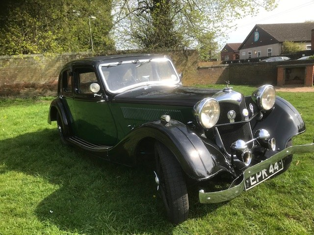 1936 Riley Kestrel 1 1/2. 12/4 .6 Light For Sale (picture 1 of 6)