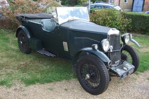 1933 Riley Nine Special 4 Seat Tourer For Sale by Auction