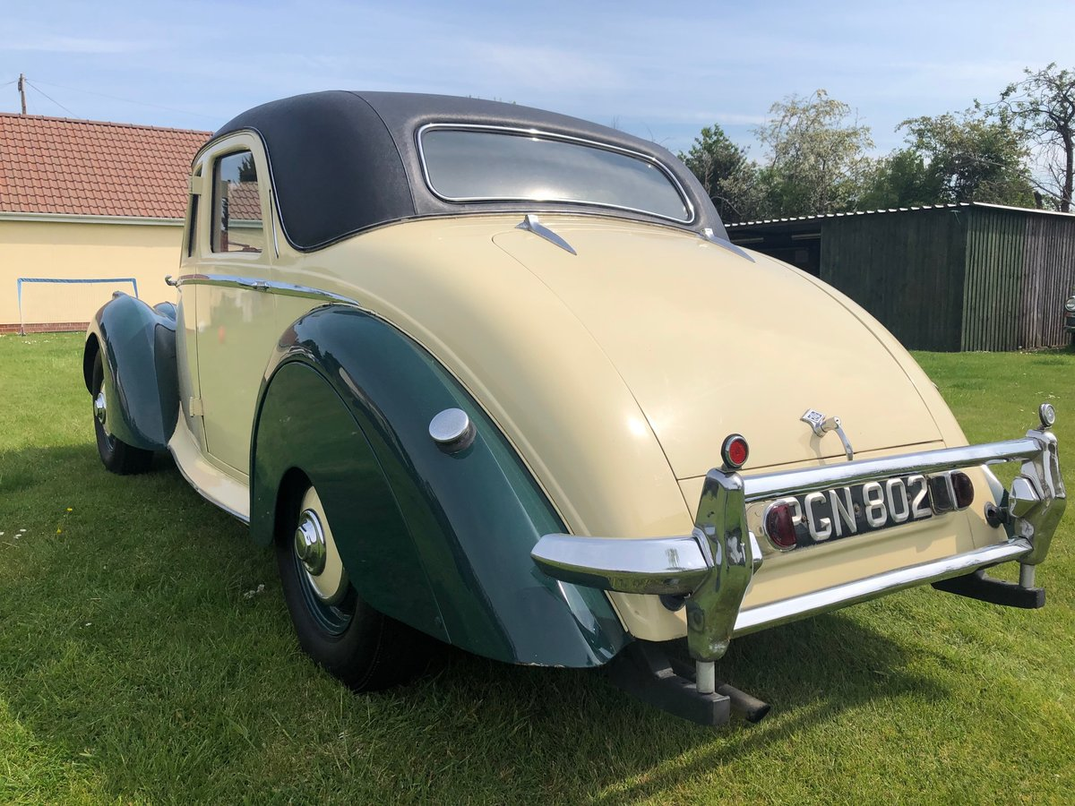 1954 RILEY RME 1.5 Ltre, History, 2 Owners VGC SOLD (picture 4 of 6)
