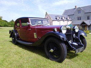 Picture of Riley Kestrel 14/6 Four light 1934 fully restored SOLD