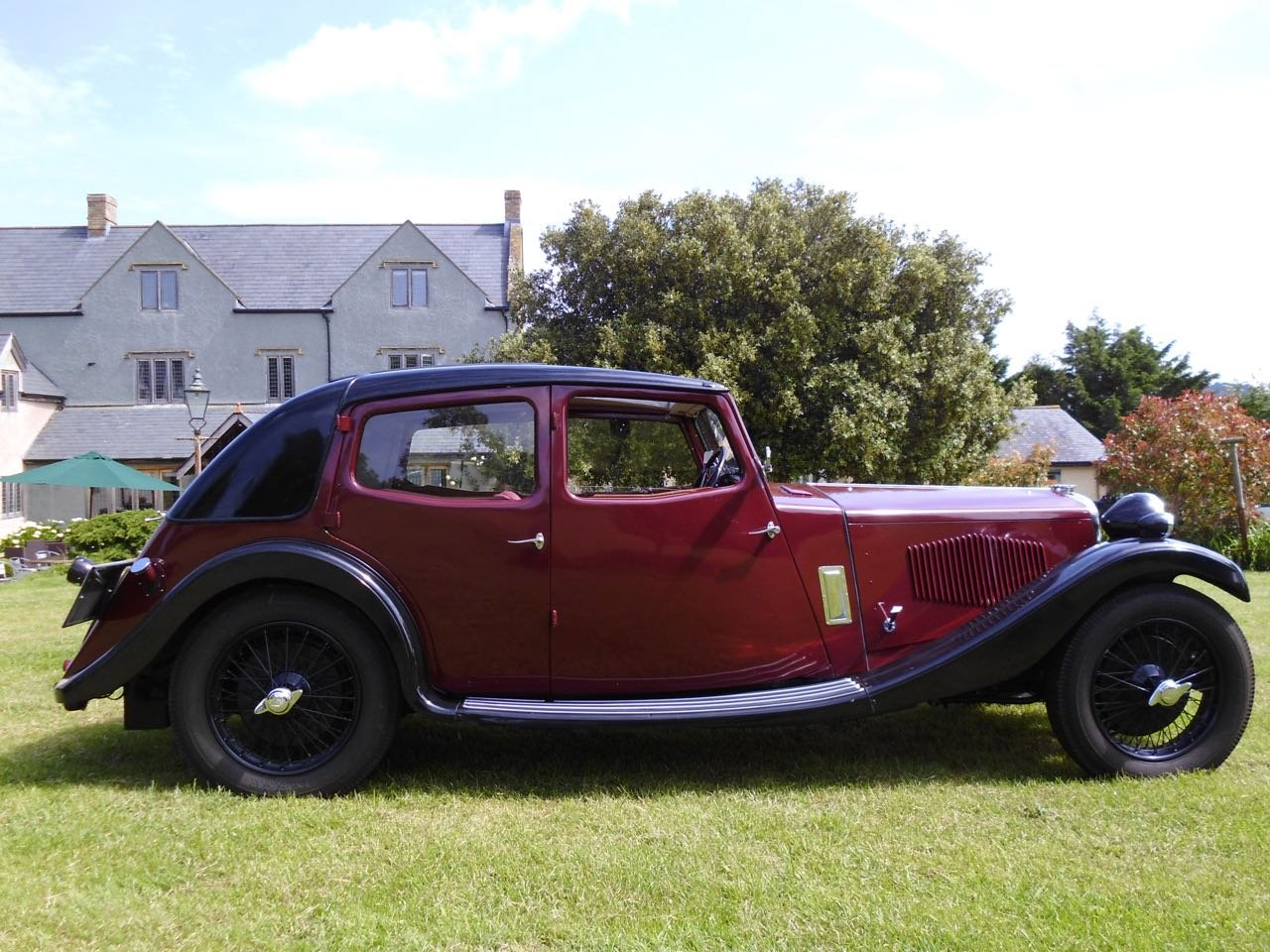 Riley Kestrel 14/6 Four light 1934 fully restored For Sale