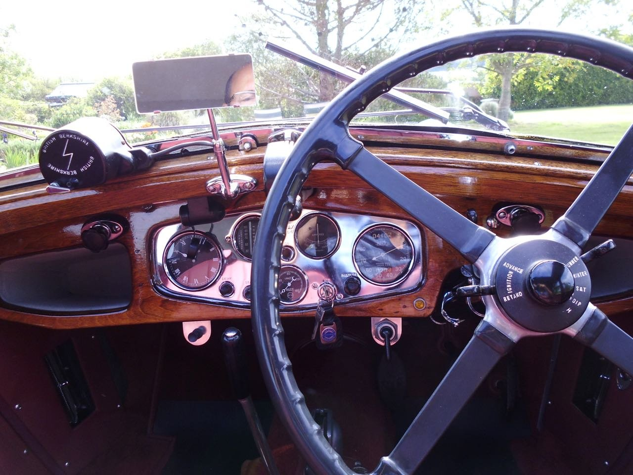 Riley Kestrel 14/6 Four light 1934 fully restored For Sale (picture 5 of 6)