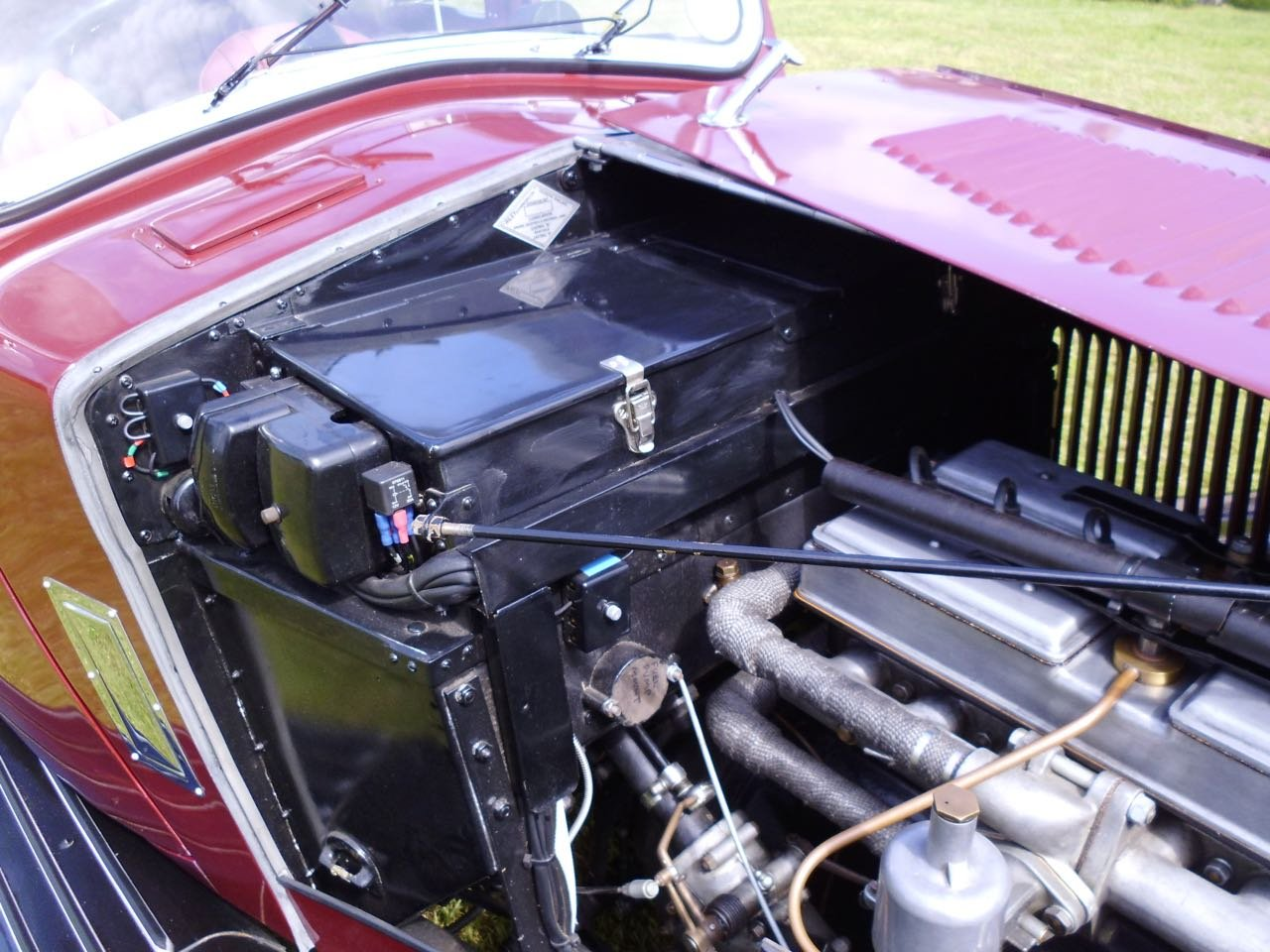 Riley Kestrel 14/6 Four light 1934 fully restored For Sale (picture 6 of 6)