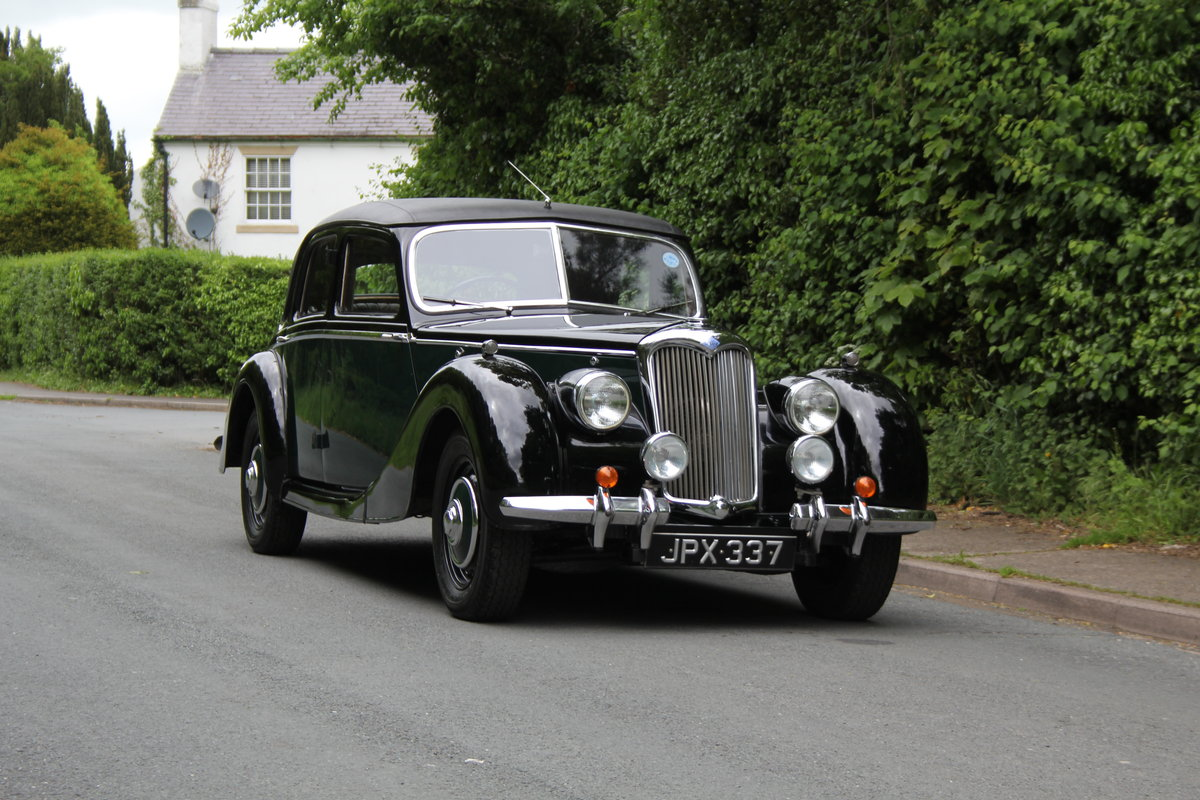 1948 Riley RMB - Ex Goodwood Police Car SOLD (picture 1 of 12)
