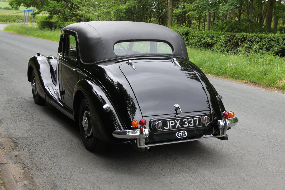 1948 Riley RMB - Ex Goodwood Police Car SOLD (picture 4 of 12)