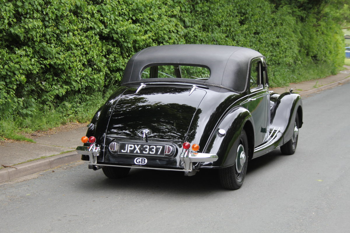 1948 Riley RMB - Ex Goodwood Police Car SOLD (picture 5 of 12)