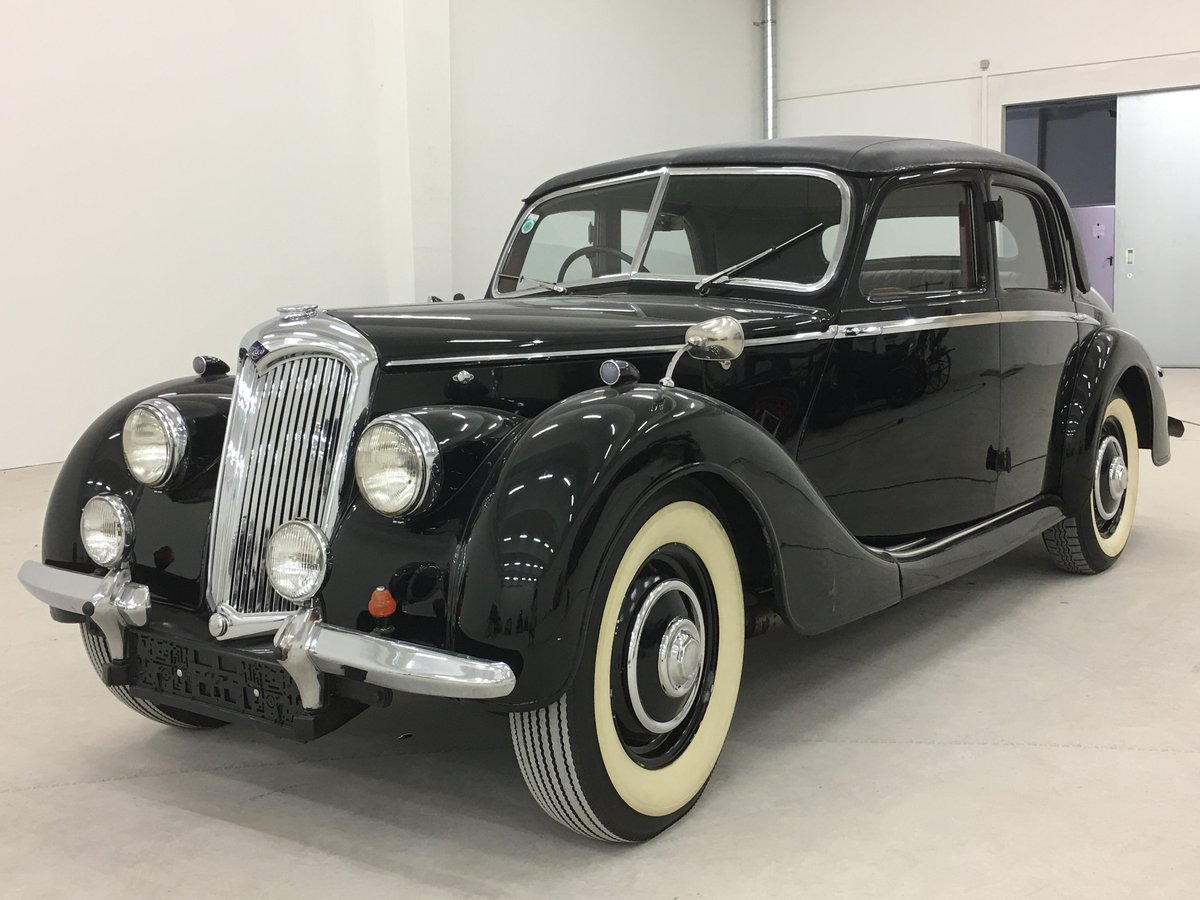 1948 Beautiful Riley RMA 1,5 with original upholstery For Sale (picture 1 of 6)