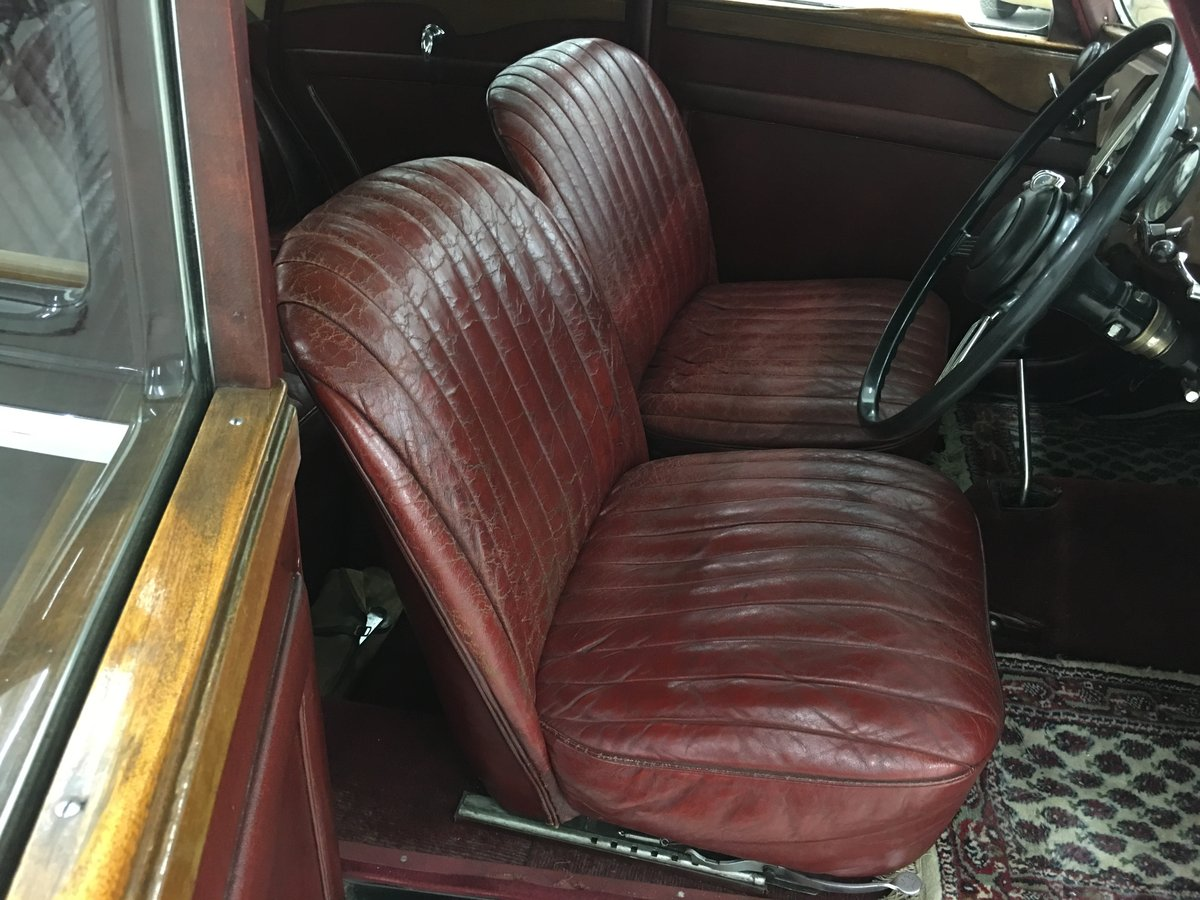 1948 Beautiful Riley RMA 1,5 with original upholstery For Sale (picture 3 of 6)
