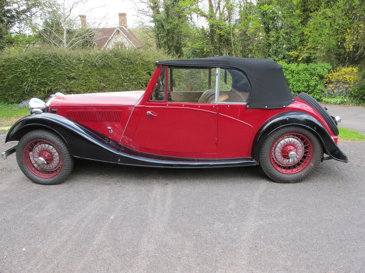 1937 12/4 Kestrel tourer For Sale (picture 1 of 5)