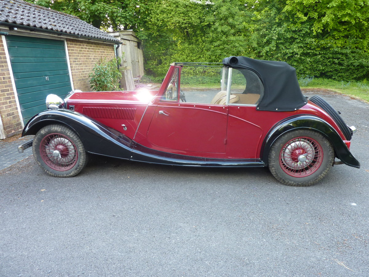1937 12/4 Kestrel tourer For Sale (picture 5 of 5)