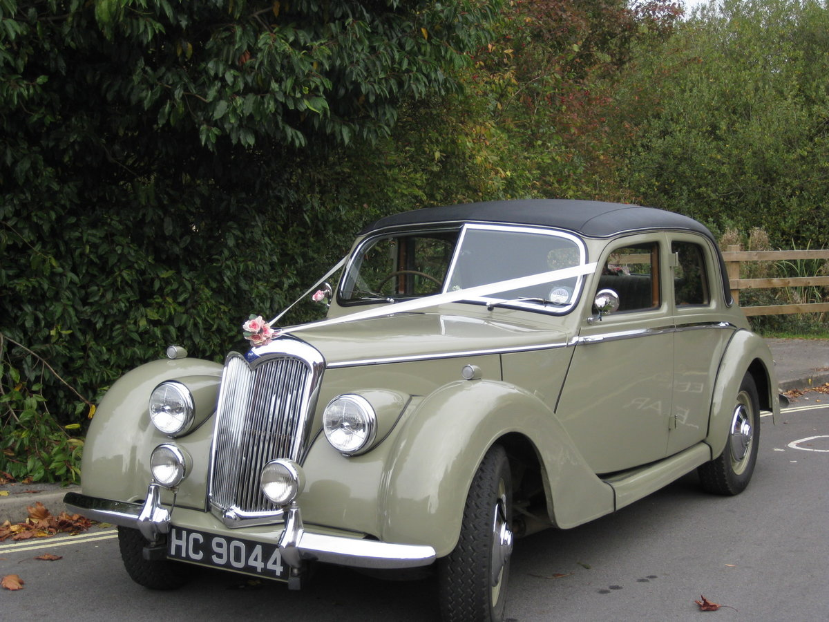 1952 Riley 1'5 RME SOLD (picture 1 of 6)