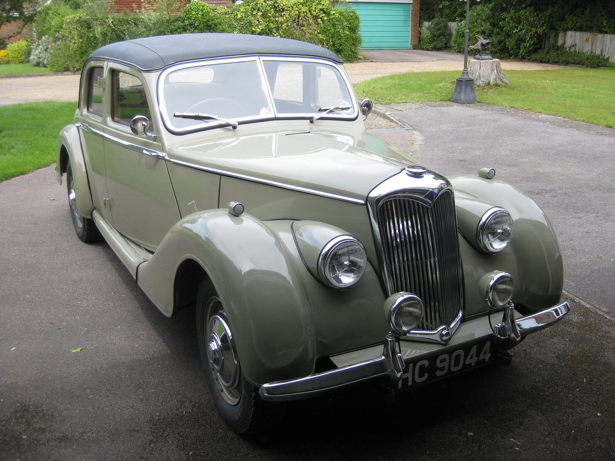 1952 Riley 1'5 RME SOLD (picture 3 of 6)