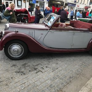 """1949 Riley featured in """"The Legendary RM's"""""""