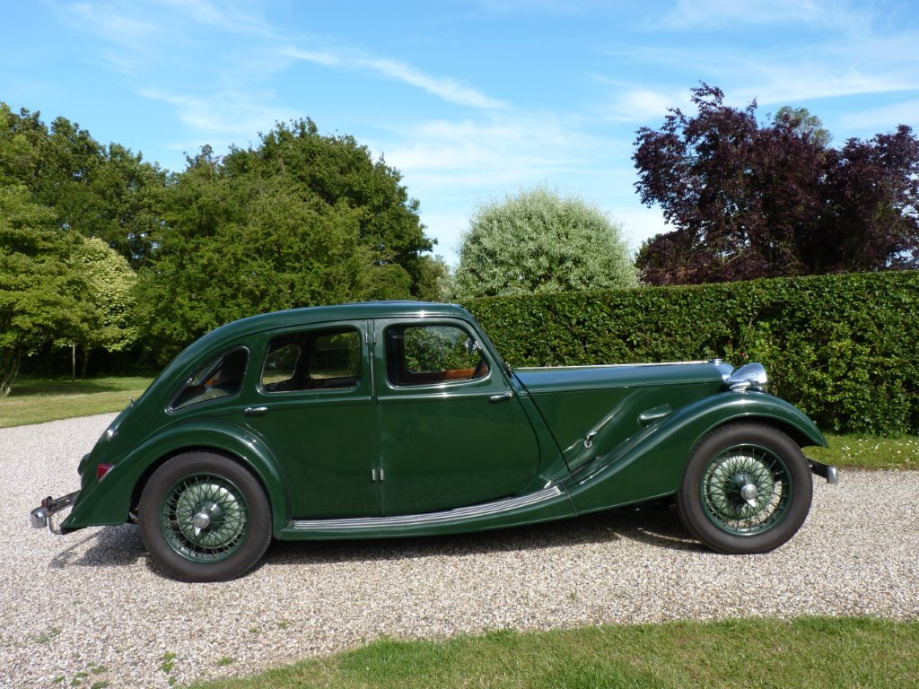 1938 Riley Kestrel 12/4 Six-Light Saloon For Sale (picture 6 of 6)